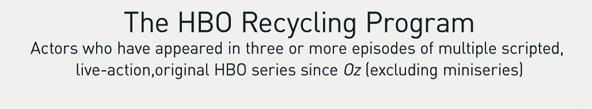 The HBO Recycling Program 8