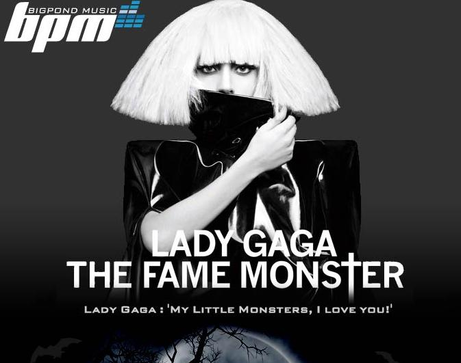Lady Gaga The Fame Monster Halloween Top Charts 4