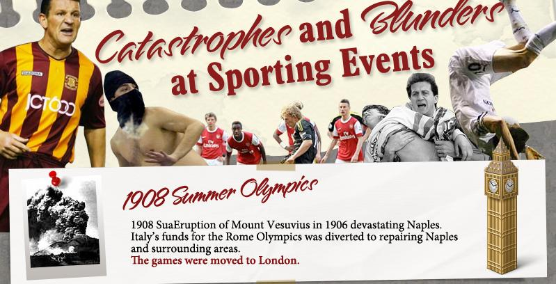 Catastrophes and Blunders at Sporting Events 5