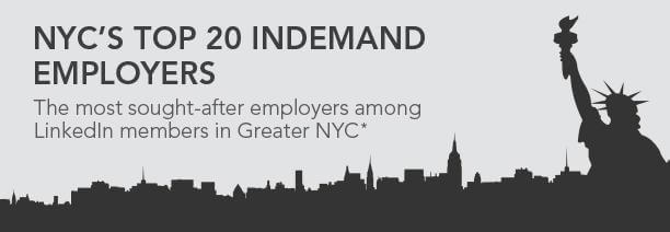 New York City's 20 Most InDemand Employers 3