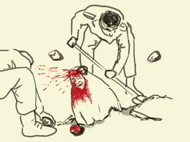 Stoning Women in Iran 4