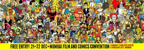 Mumbai Film and Comic Convention 2013 2