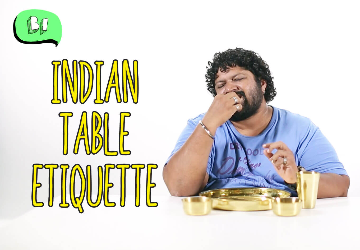 Indian Table Etiquette