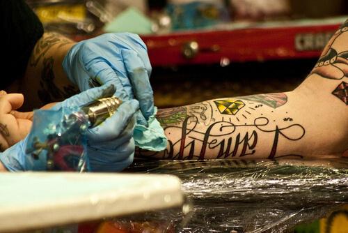 Tattoo Inking