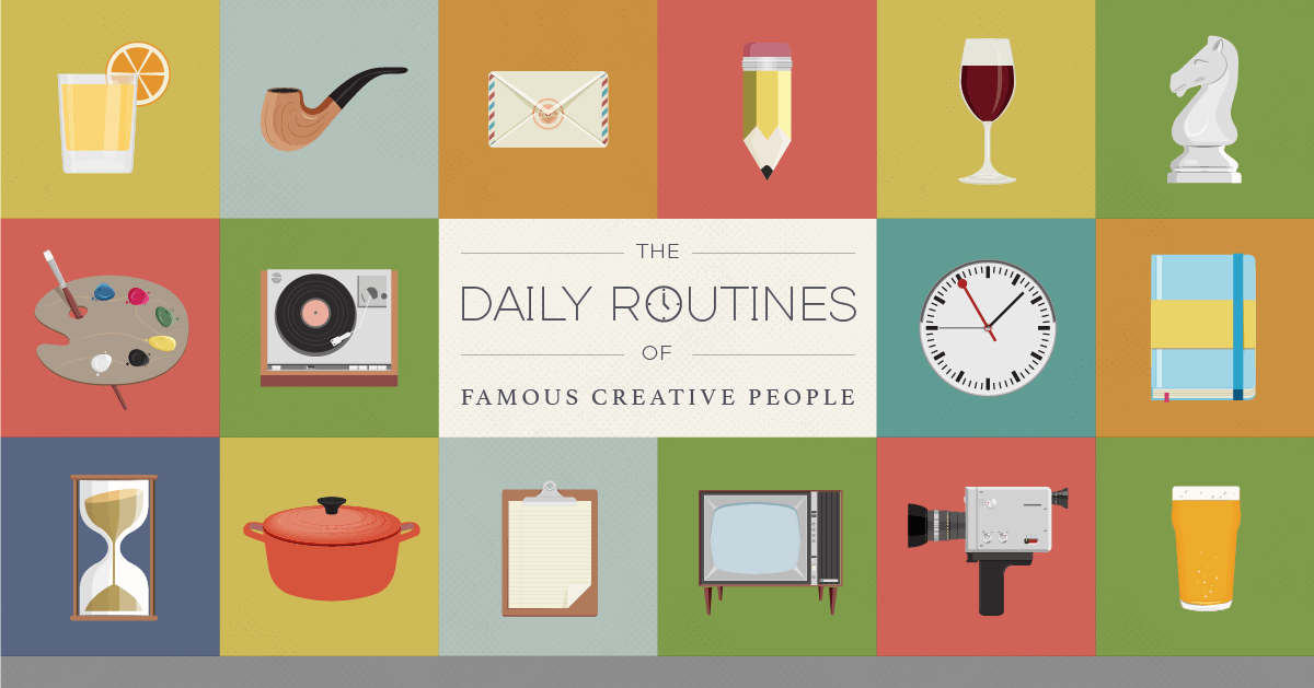 The Daily Routines of Famous Creative People 3