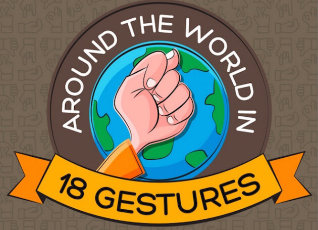 Around the World in 18 Gestures 7