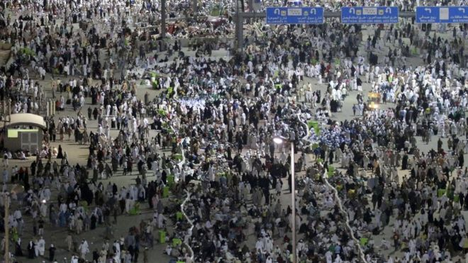 2015 Haj Stampede near Mecca 3