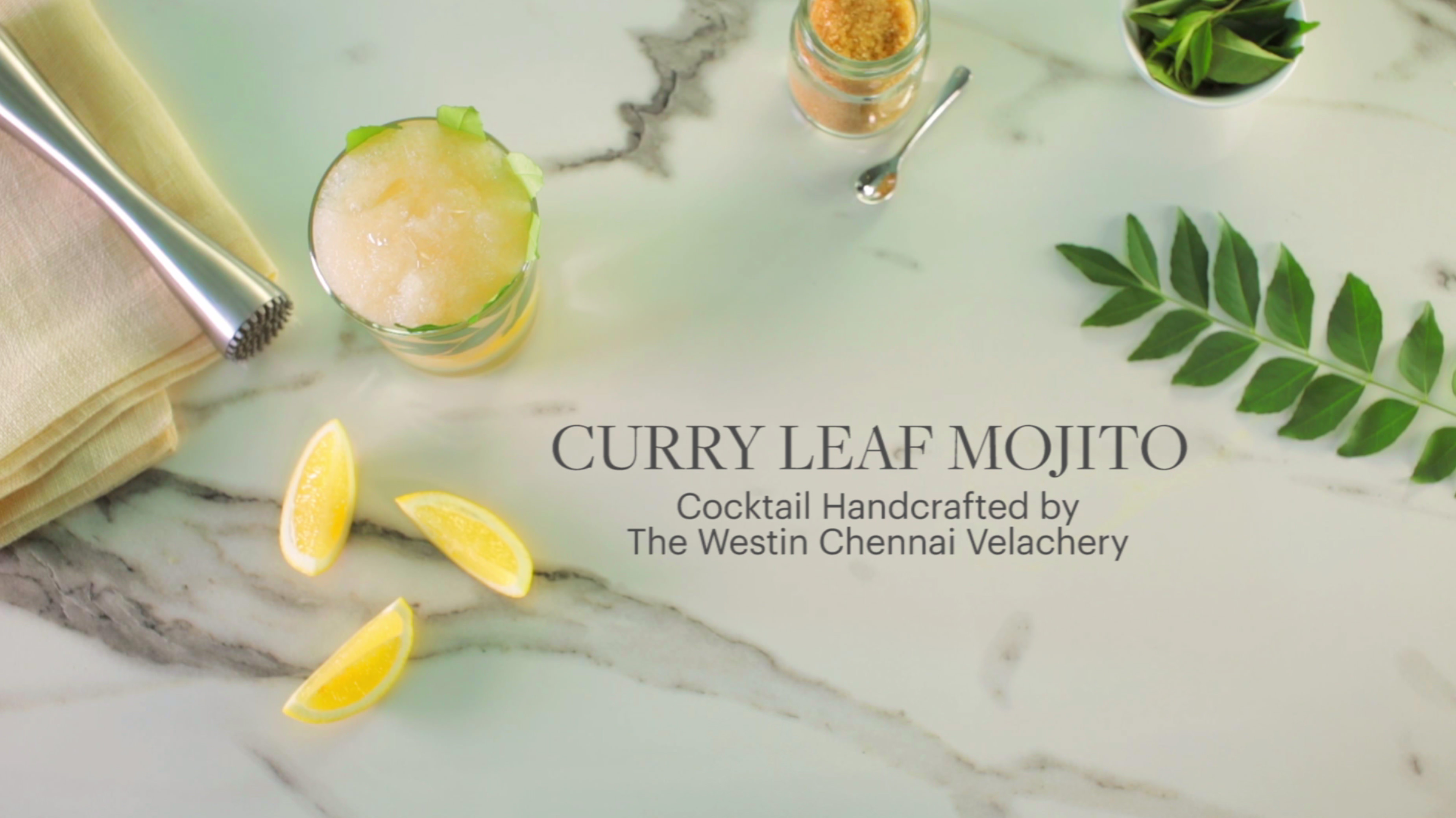 The Westin Chennai Velachery - Curry Leaf Mojito