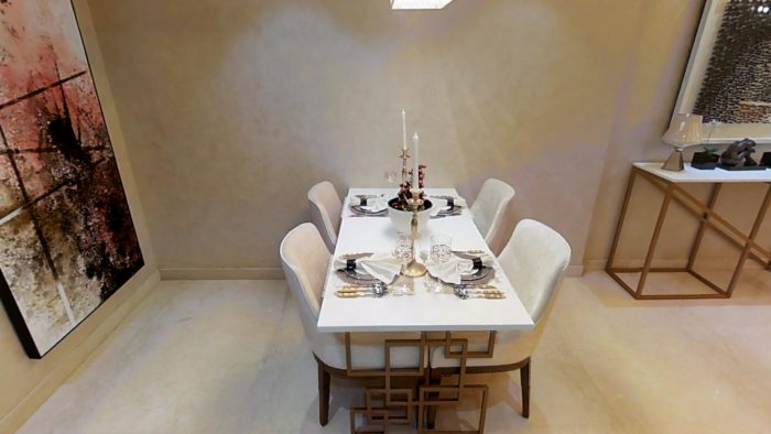 Omkar Meridia 2 BHK Dining Space