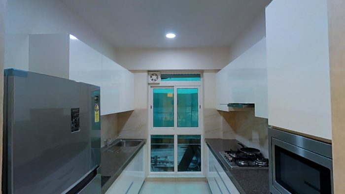 Omkar Meridia 2 BHK Kitchen