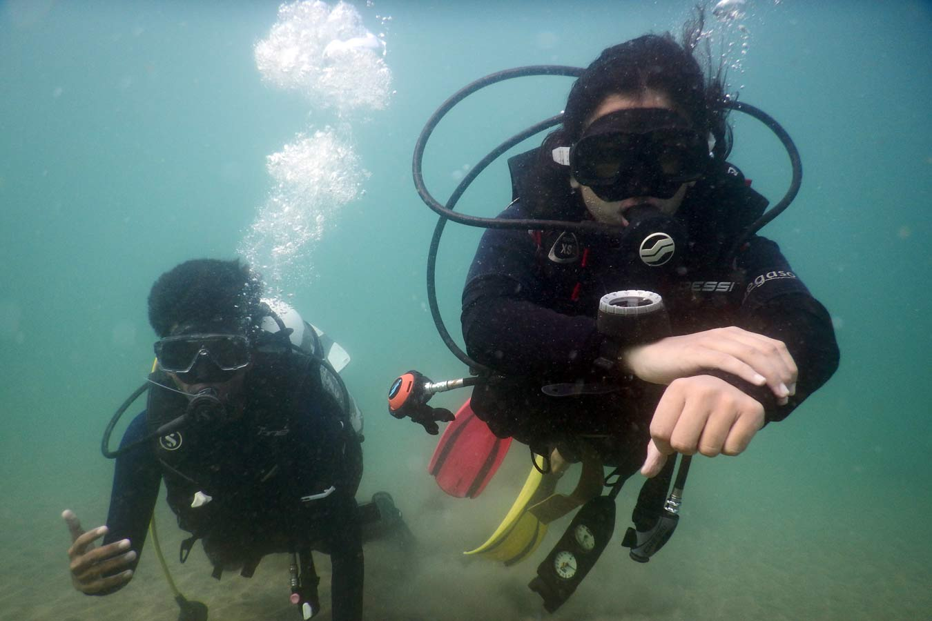 Experience Scuba Diving at Grand Island in Goa 3