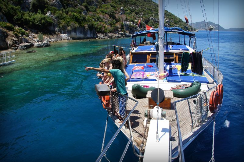Marmaris Fethiye Blue Cruise