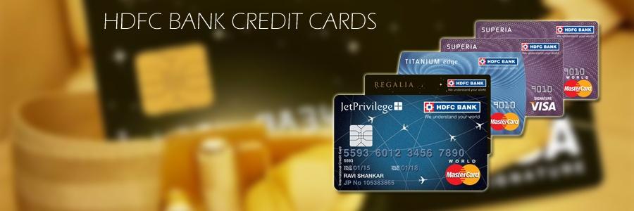 HDFC Credit Cards Status
